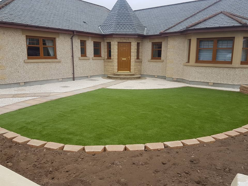 fake grass patch